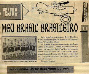 1 Espetaculo Meu Brasil brasileiro_Dancando no ritmo_1997_Material na imprensa (2)
