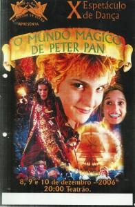 10 Espetaculo O mundo Magico de Peter Pan_Dancando no ritmo_2006_pecas graficas_cartaz
