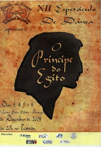 12 Espetaculo Principe do Egito_Dancando no ritmo_2009_pecas graficas_cartaz