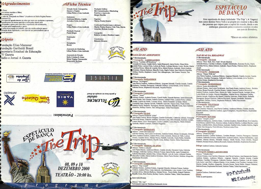 4 Espetaculo The Trip_Dancando no ritmo_2000_pecas graficas_folder