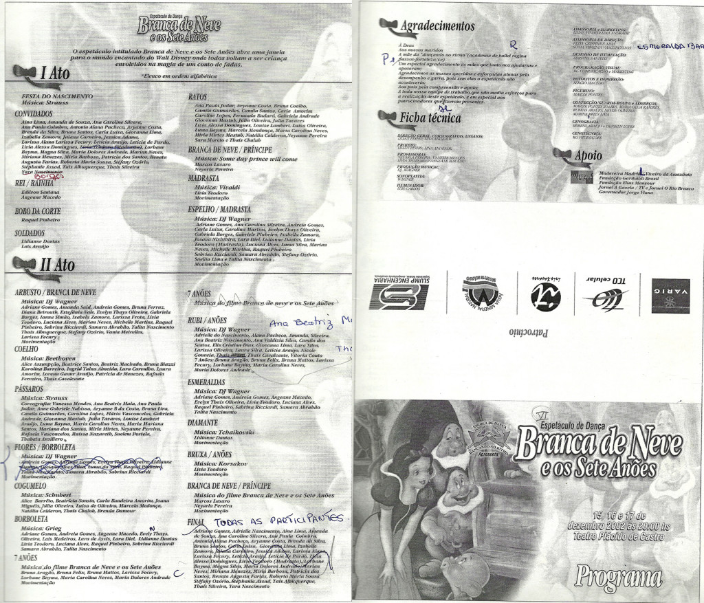 6 Espetaculo Branca de Neve e os Sete anoes_Dancando no ritmo_2002_pecas graficas_folder