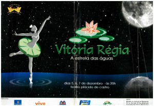 7 Espetaculo Vitoria Regia_Dancando no ritmo_2003_pecas graficas_cartaz