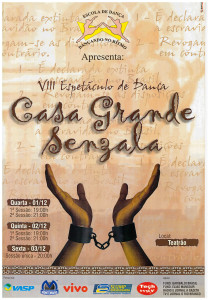 8 Espetaculo Casa Grande & Senzala_Dancando no ritmo_2004_pecas graficas_cartaz