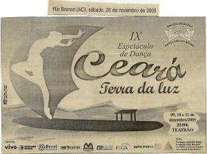 9 Espetáculo Ceará Terra de Luz_Dancando no ritmo_2005_material na imprensa (2)