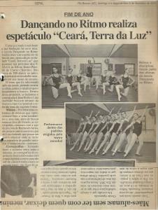 9 Espetáculo Ceará Terra de Luz_Dancando no ritmo_2005_material na imprensa (4)