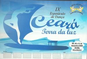 9 Espetáculo Ceará Terra de Luz_Dancando no ritmo_2005_pecas graficas_cartaz